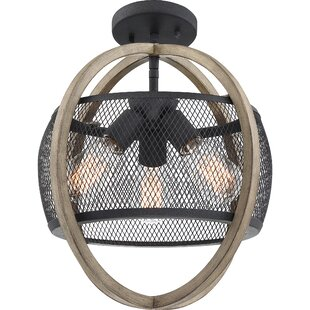 Click 3-Light Globe Pendant by Williston Forge