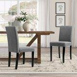 Fellsburg Upholstered Dining Chair (Set of 4) by Latitude Run