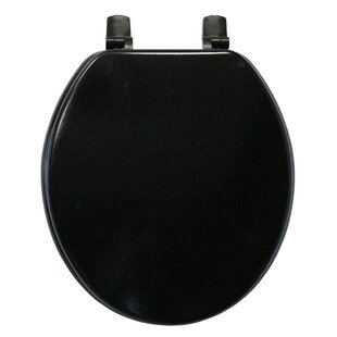 Trimmer Molded Wood Round Toilet Seat