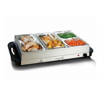 Portable Buffet Server and Food Warmer 2-5 qt