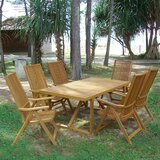 Lilly Folding Solid Wood Dining Table