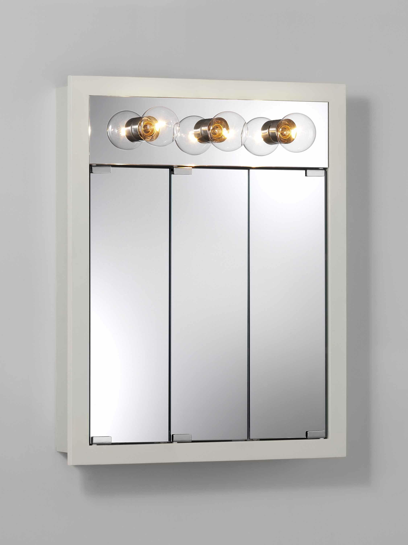 Jensen 24 X 30 Surface Mount Medicine Cabinet With Lighting Reviews Wayfair