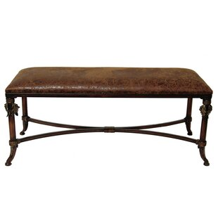 Selectives Leather Bench