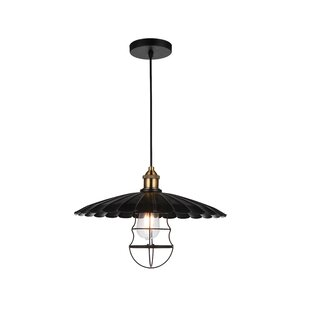 CWI Lighting Amur 1-Light Bell Pendant