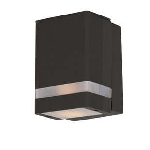 Leilla 1-Light Outdoor Flush Mount