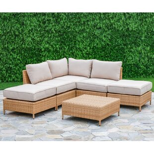 Breakwater Bay Tamworth 6 Piece Sectional Set with Cushions