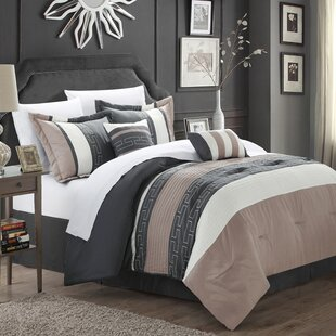 Burrier 6 Piece Comforter Set