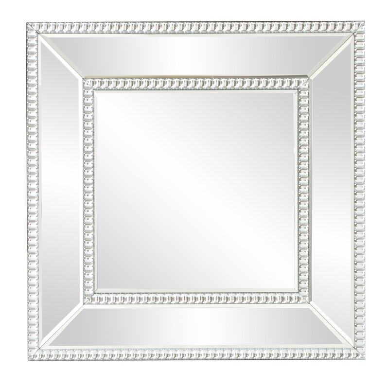 Mirror With Mirrored Frame - Home Design Ideas