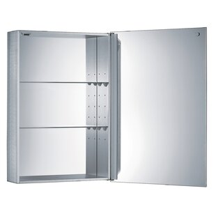 Savings 18.87 x 26.75 Surface Mount Medicine Cabinet ByWhitehaus Collection
