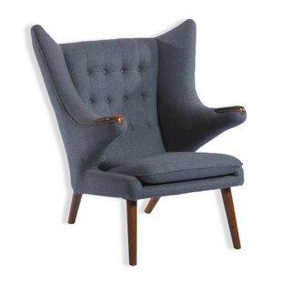 Deity Lounge Chair and Eterna Ottoman by Zen Better Living