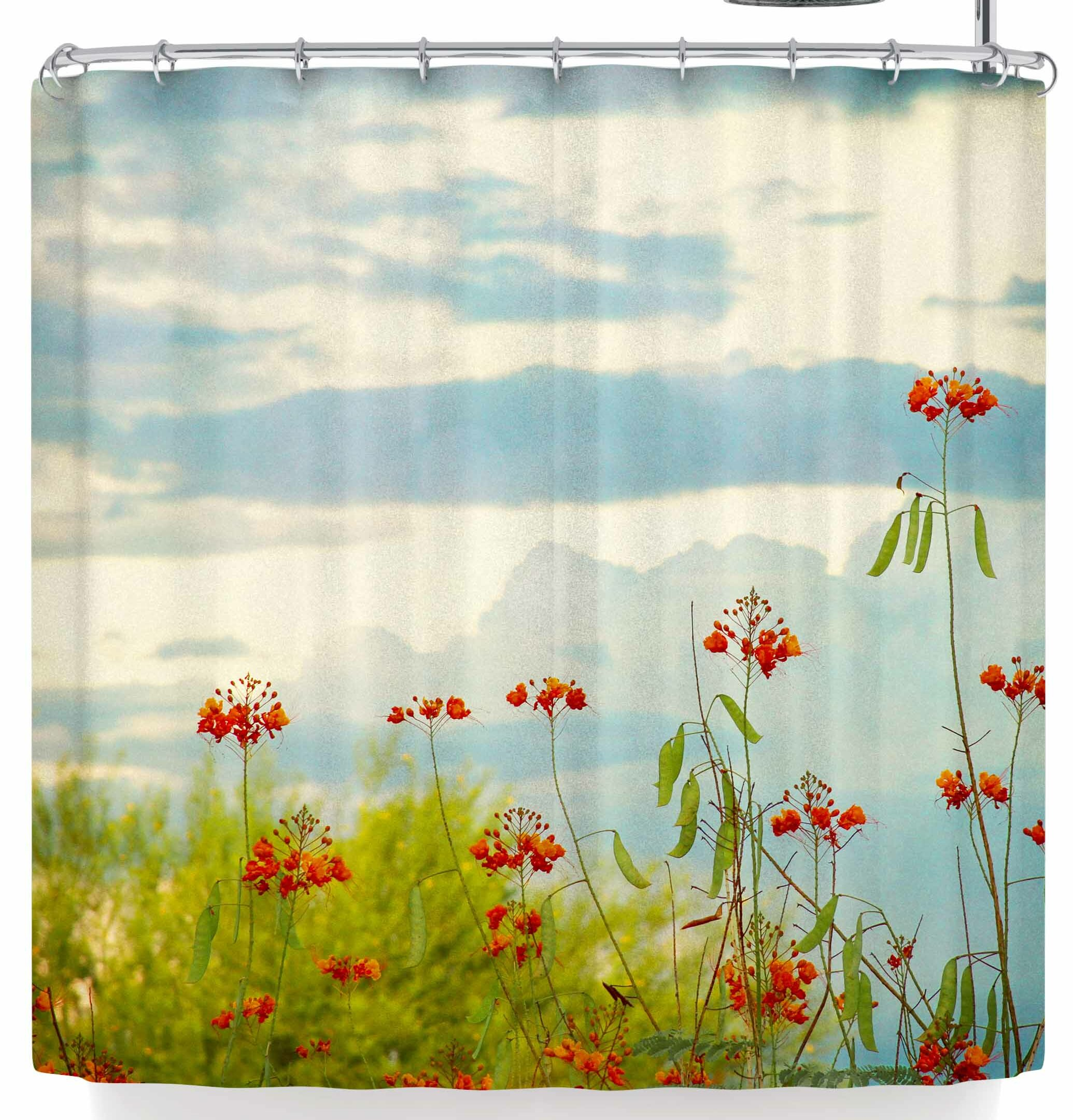 East Urban Home Sylvia Coomes Bird Of Paradise Shower Curtain Reviews