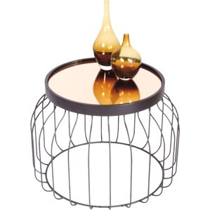 Behm Bird Cage End Table