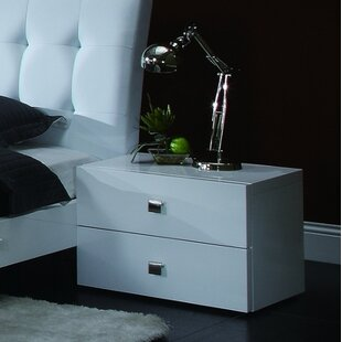 Jeri 2 Drawer Nightstand