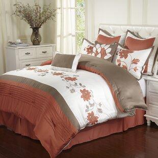 Nanshing America, Inc Mackenzie 8 Piece Comforter Set