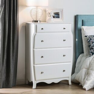 Quinn 4 Drawer Standard Chest by Hokku Designs Comparison
