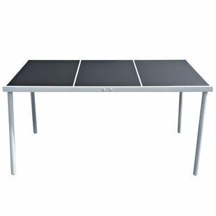 Apodaca Steel Dining Table Image