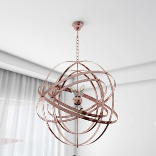 Mercer41 Edna 4-Light Geometric Pendant