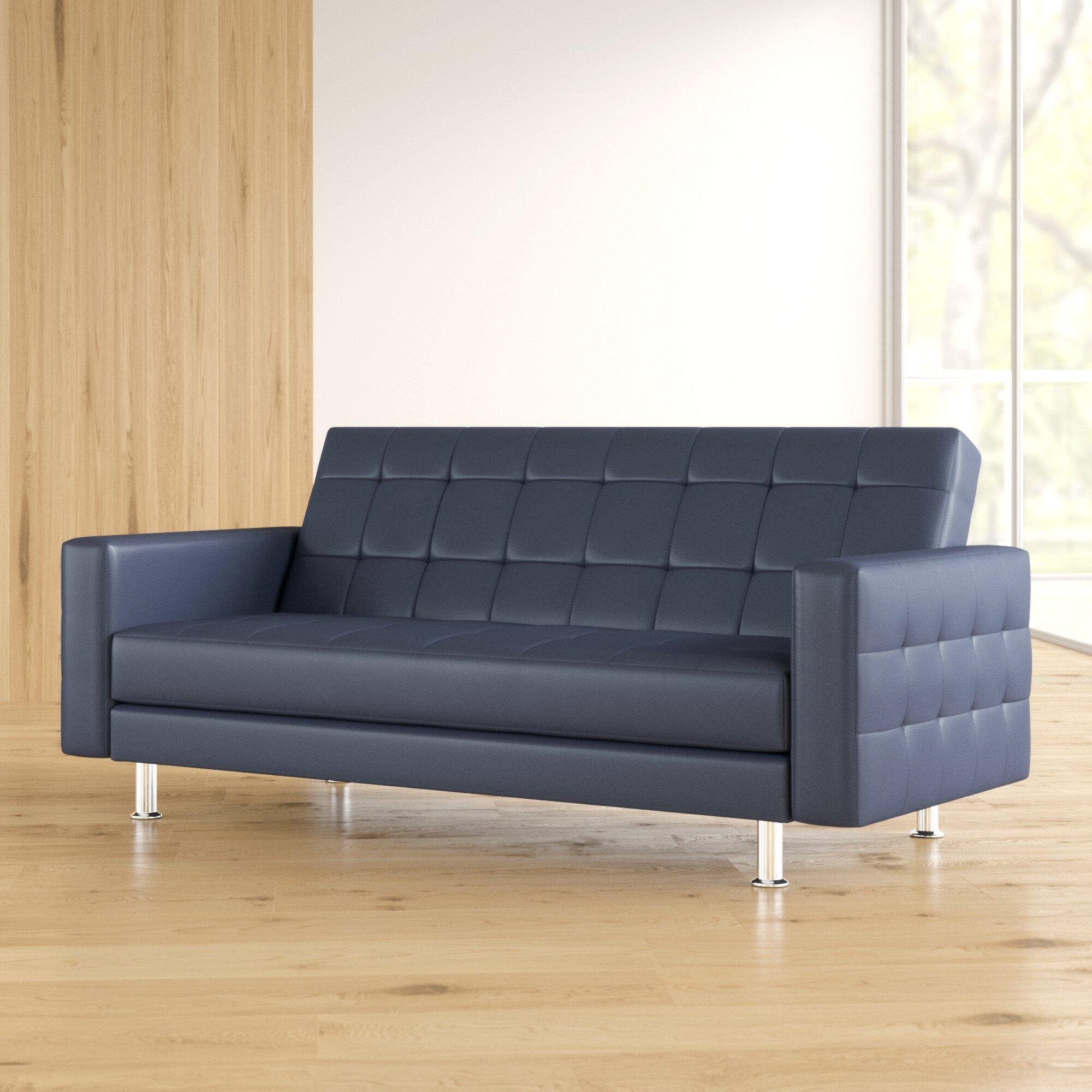 - Halsey Convertible Sofa & Reviews AllModern