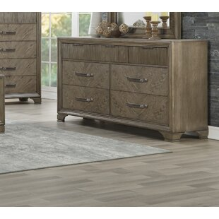 Alcott Hill Carlos 7 Drawer Double Dresser