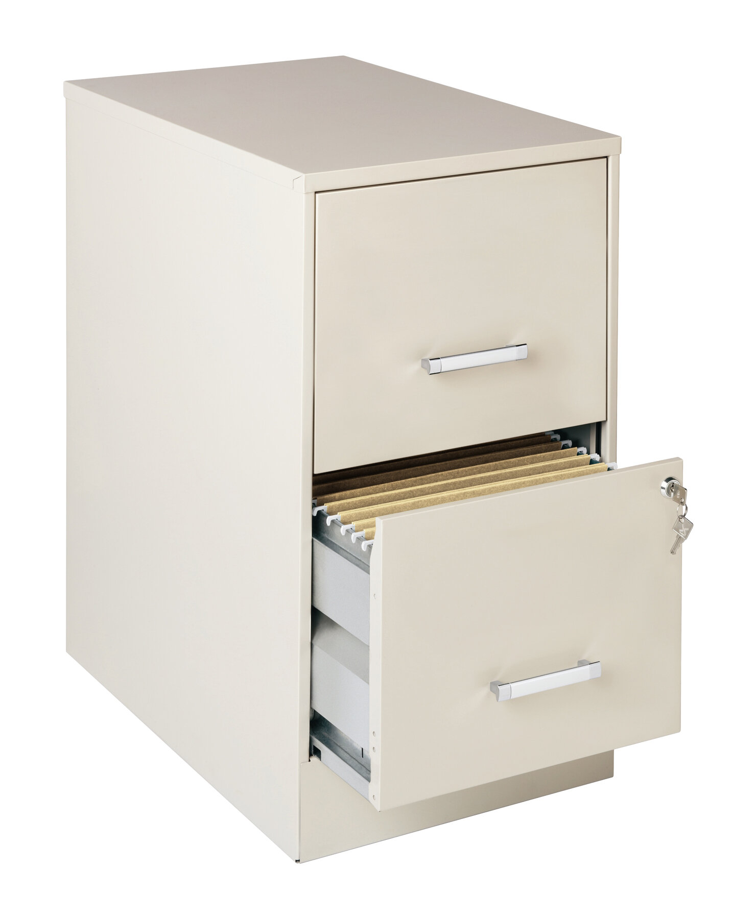 Wrought Studio Wooster 2 Drawer Vertical Filing Cabinet Reviews