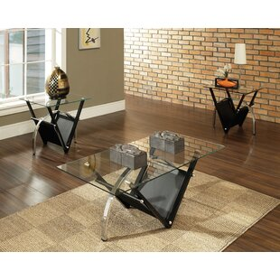 Sanfilippo 3 Piece Coffee Table Set