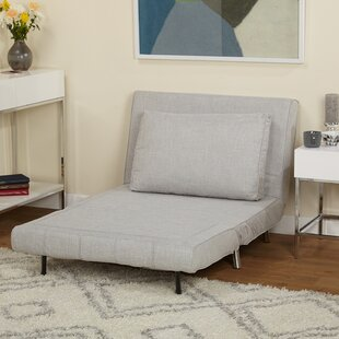 Light Gray Futon Chair by Brayden Studio