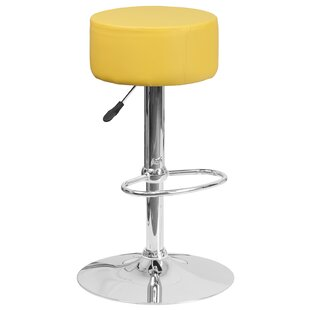 Neale Adjustable Height Swivel Bar Stool ..