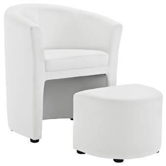 Brilliant Darvin Barrel Chair And Ottoman Cjindustries Chair Design For Home Cjindustriesco