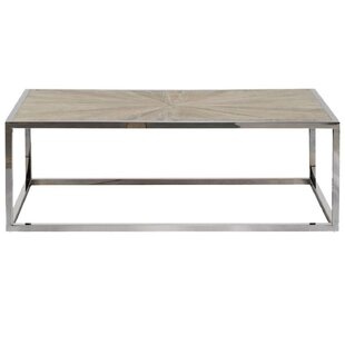 Brayden Studio Paulsen Parquet Coffee Table