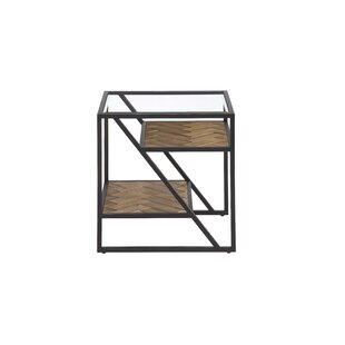Kit Square End Table by 17 Stories