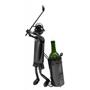 Golfer 1 Bottle Tabletop Wine Rack by Three Star Im/Ex Inc.
