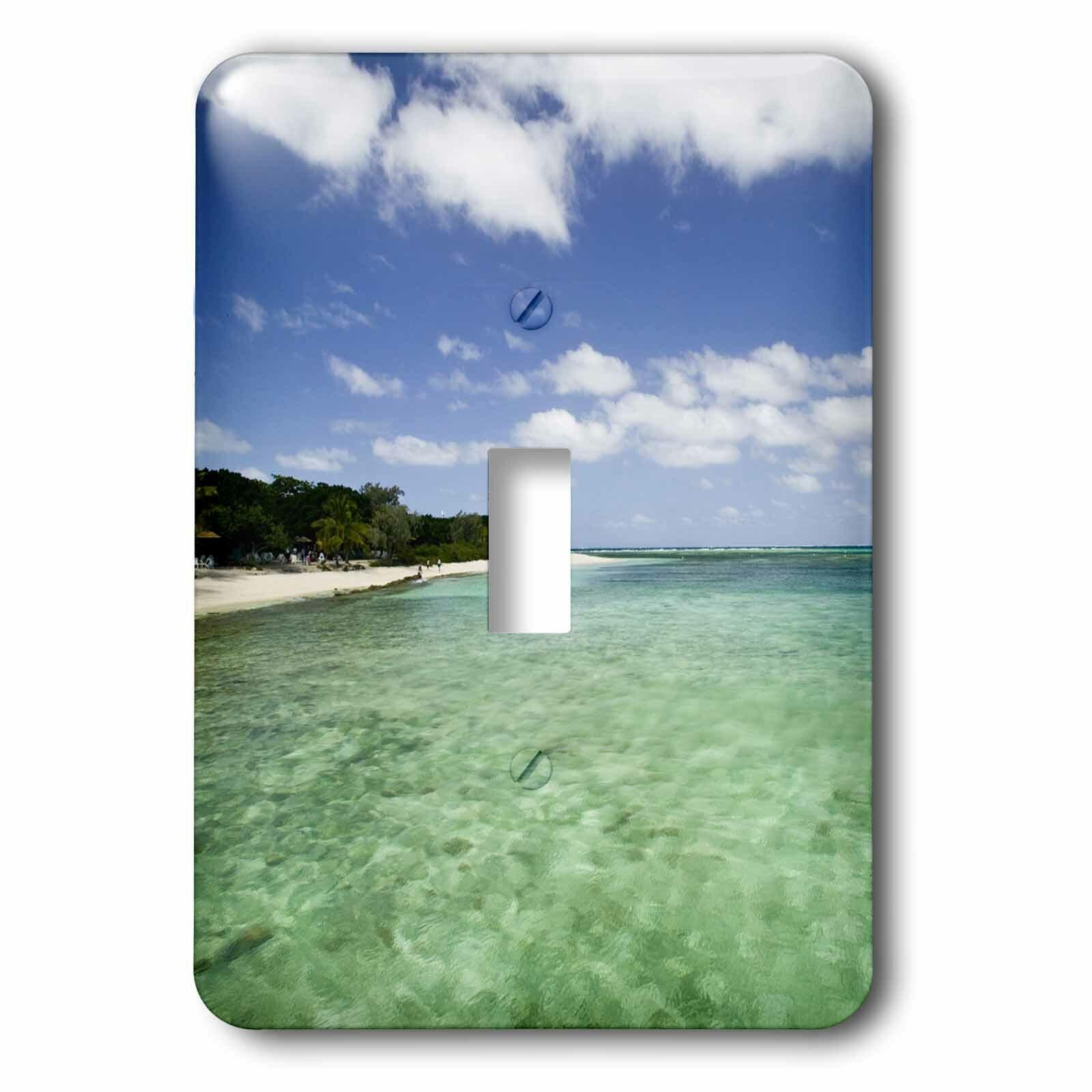 3drose New Caledonia Amedee Islet Tropical Beach 1 Gang Toggle Light Switch Wall Plate Wayfair