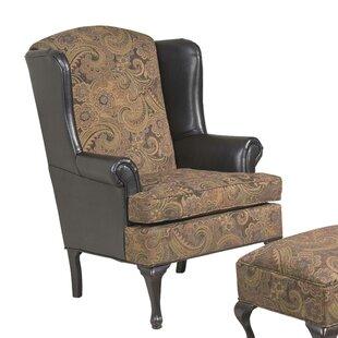 Miraculous Manske Wingback Chair Short Links Chair Design For Home Short Linksinfo