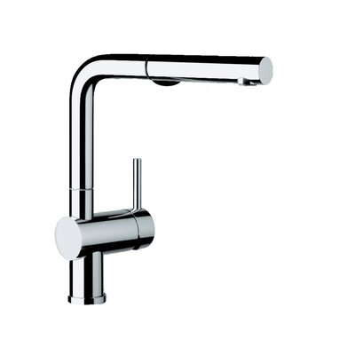 Blanco Linus Pull Out Single Handle Kitchen Faucet Color: Polished Chrome