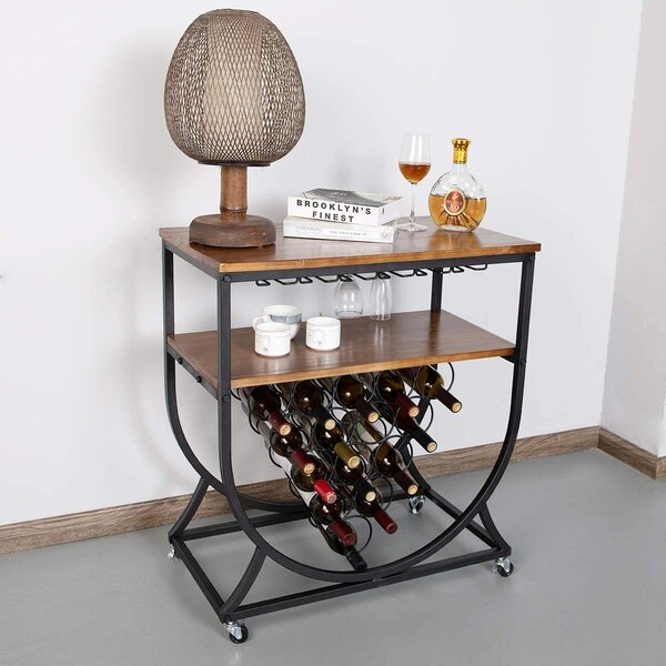 Wine Rack Insert For Cabinet Wayfair Ca