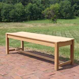 Earls Backless Teak Picnic Bench
