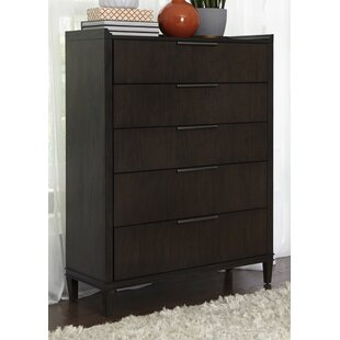 Brayden Studio Vanfleet 5 Drawer Chest