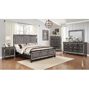 Dania Panel 3 Piece Bedroom Set by Everly Quinn Coupon