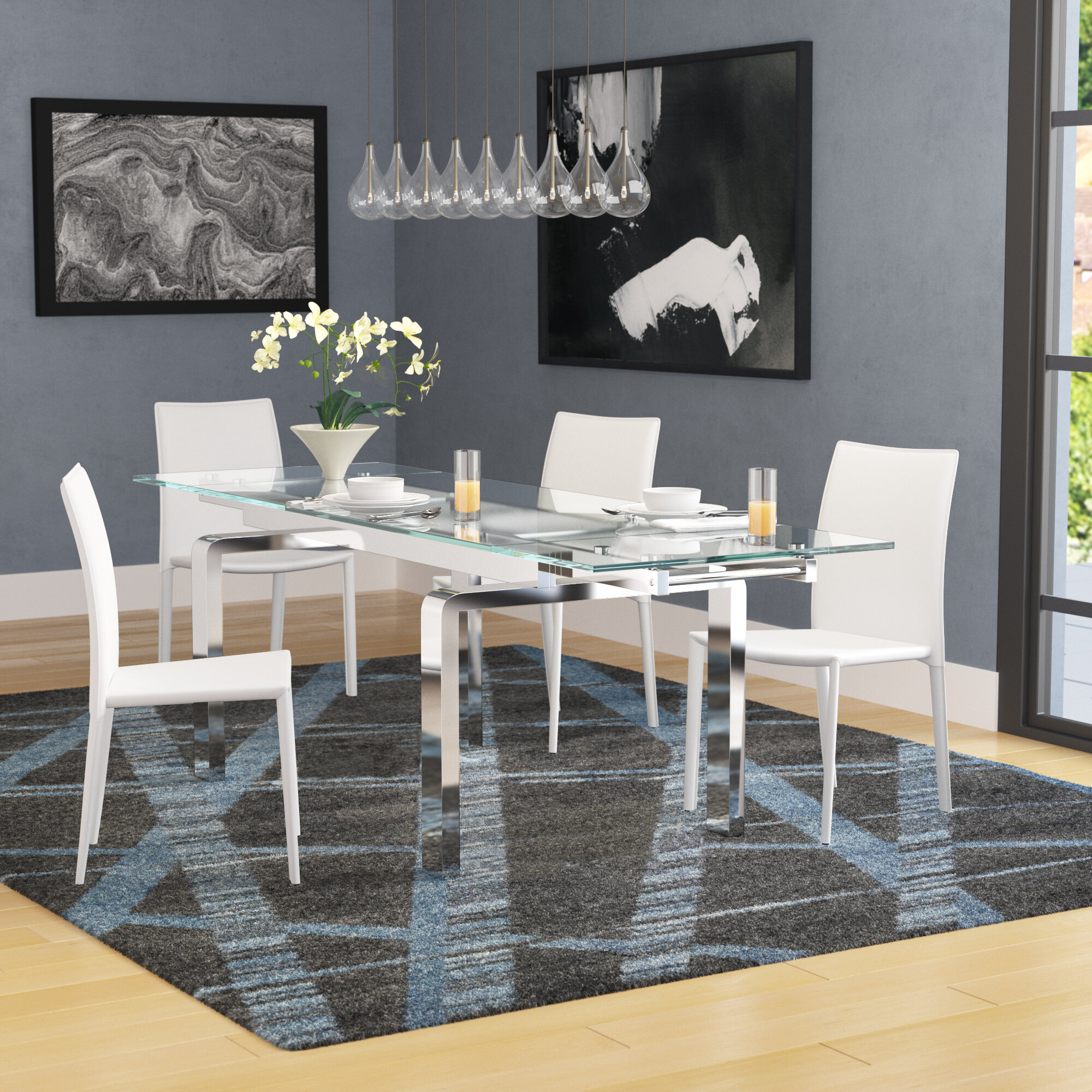 Round Table Pleasanton Ca.Evelina Extendable Dining Table