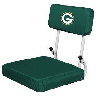 Logo Brands Hardback Stadium Seat with Cu..
