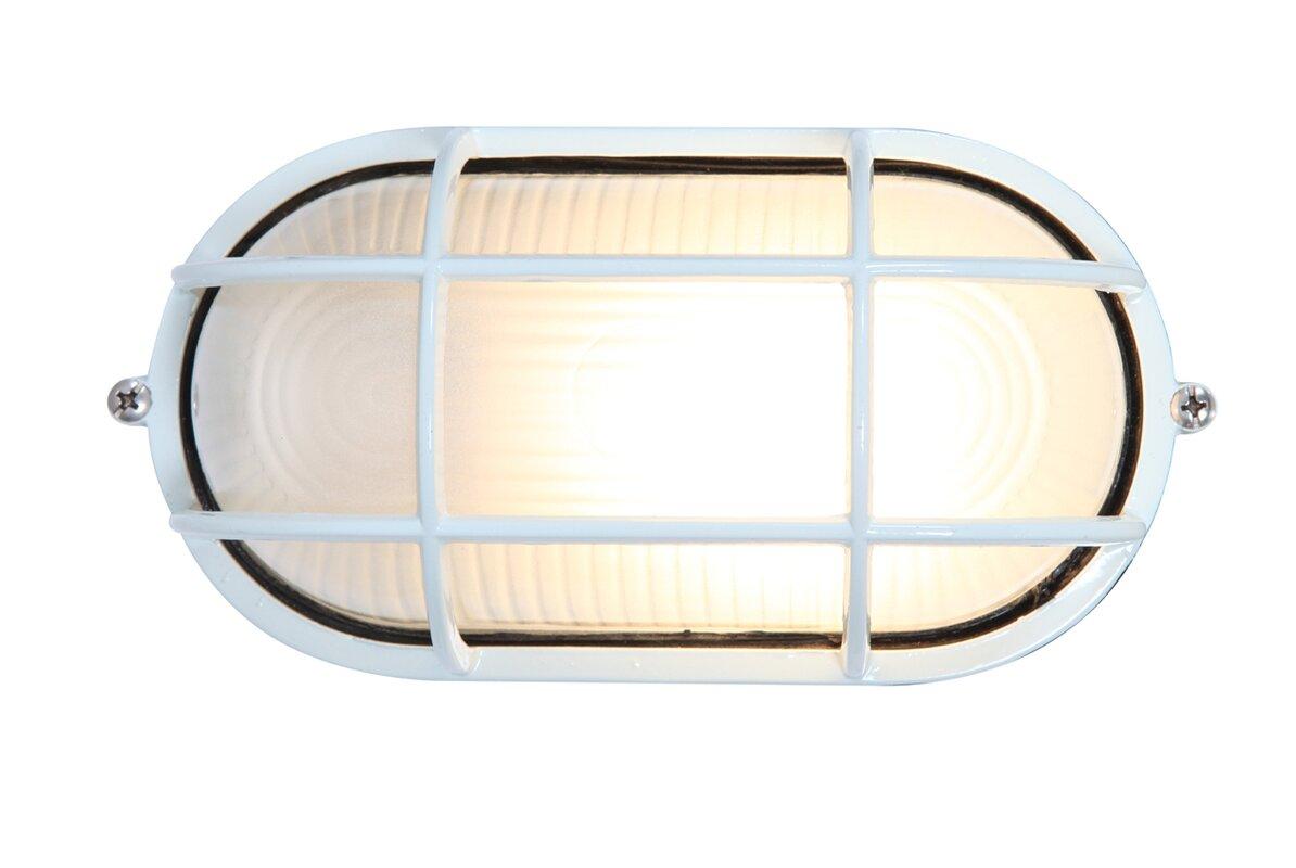 Rivka 1 light glass shade outdoor bulkhead light reviews allmodern rivka 1 light glass shade outdoor bulkhead light mozeypictures Choice Image