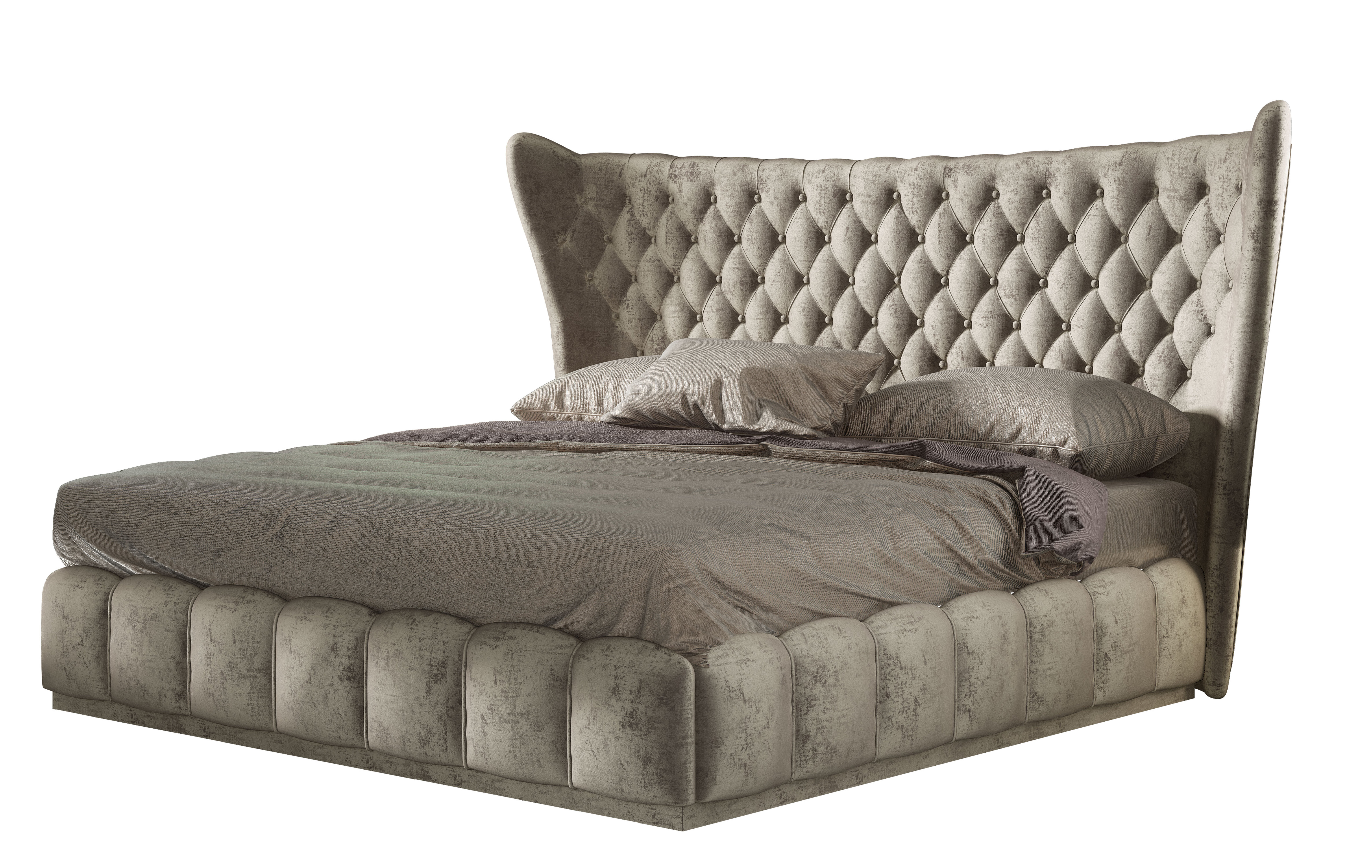 Mercer41 Longville Bedroom Queen Upholstered Platform Bed Wayfair
