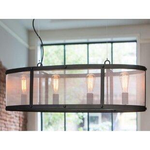 Gracie Oaks Manzella Wide 4-Light Kitchen..