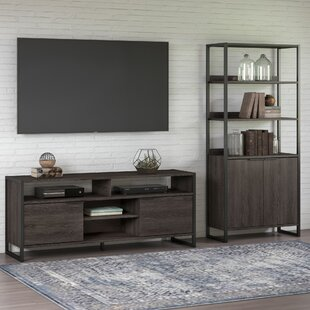 Buy clear Quiroz Entertainment Center for TVs up to 70 by Williston Forge Reviews (2019) & Buyer's Guide
