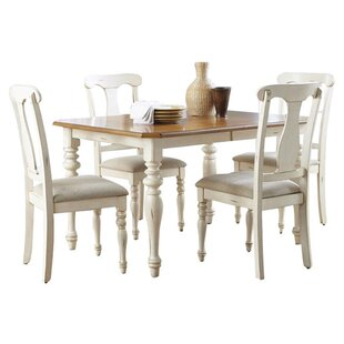 Beachcrest Home Bridgeview 5 Piece Dining Set