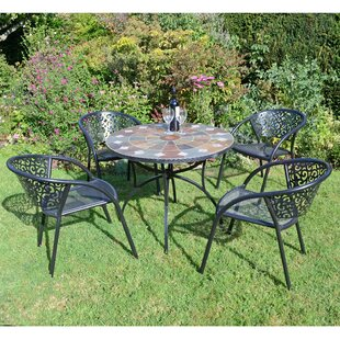 Winfall 4 Seater Dining Set By Sol 72 Outdoor