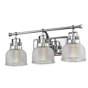 Gracie Oaks Wiseman 3-Light Vanity Light