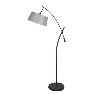 Gray Shade Modern Amp Contemporary Floor Lamps You Ll Love