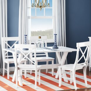 Hyannis 5 Piece Dining Set by Rosecliff Heights