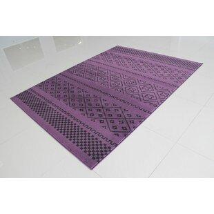 Pontus Purple Area Rug byWrought Studio